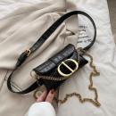Nierentasche für Frauen - schwarzer Öko-Ledergürte