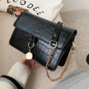 Black eco-leather handbag T220CZ