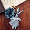 Nyúl virág kulcstartóval BRL12N