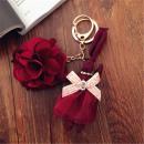 nyúl másolata virág kulcstartóval BRL12BOR