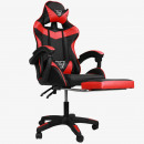 wholesale Home & Living: Swivel gaming chair with EC GAMING KO footrest