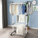 wholesale Household & Kitchen: Laundry dryer large vertical foldable white gray