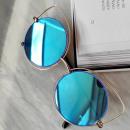 wholesale Fashion & Apparel: MIRROR GLASSES EYE CATCHES - BLUE OK86WZ4