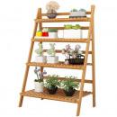 groothandel Kantoor- & winkelbenodigdheden: Bloemenstandaard, ladder, plank voor bloemen, 4 pl