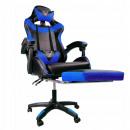 hurtownia Artykuly elektroniczne: Fotel gamingowy obrotowy z podnóżkiem EC ...