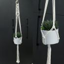 Hanging macrame flower pot holder WN10