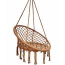 Fotel wiszący bocianie gniazdo hamak BOHO, huśtawk