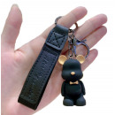 wholesale Dolls &Plush: Teddy bear key ring, black tags BRL49