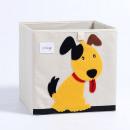 hurtownia Zabawki: Pojemnik na zabawki sztywny, filc, pies OR4WZ6