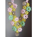 ingrosso Gioielli & Orologi: Collana in vetro Openwork Flowers Green