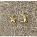 nagyker Dekoráció: Karácsonyi csillag és a Hold fülbevaló