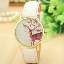 Watch white deer Z135B