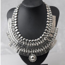 necklace necklace pharaoh crystal n70 silver