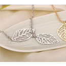 NECKLACE DELICATE CELEBRITY LIST SILVER N122S