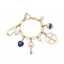 wholesale Bracelets: CHARMS CHILD BRACELET WITH B3 GREEN