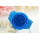 SILICONE WATCH JIS BLUE Z246