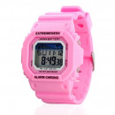 SKMEI WATCH UNISEX BEAUTY Watertight PINK Z25