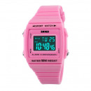 SKMEI Chronometer Watertight LED PINK Z