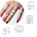 wholesale Rings: SET OF RINGS MULTI 4IN1 BIEL Pe00