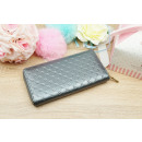 WALLET POCKETED GRAPHITE