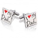 wholesale Cufflinks:Cufflinks i love dad s14