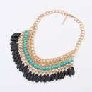grossiste Chaines:COLLIER BOHO NEW BLUE