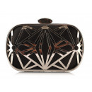 wholesale Handbags: BAG PURPOSE PUZDZKA ZE ZBROWKA CZARNA T48
