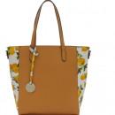 wholesale Handbags: LARGE ITALIAN LEATHER BAG DIANA & CO. IN LEMON