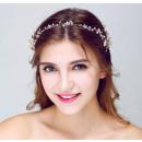WEDDING TIE PEARL FLOWERS O58