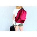 Velvet backpack VELVET BORDO
