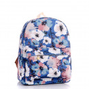 SCHOOL BACKPACK Watercolor flowers High quality