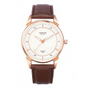 MALE WATCH YAZOLE SWAROW WHITE BROWN SHIELD P