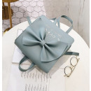 GIFT BAG PACK BOW 2in1 BABY BLUE T75