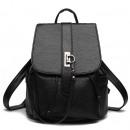 wholesale Backpacks: BLACK BACKPACK EKOSKÓRA PL87
