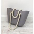wholesale Handbags: BAG JELLY BAG - GRAY T1SZ