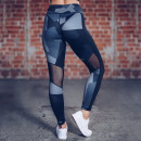 Sport Leggings Fitness Workout Black L LEG31L
