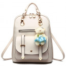 BACKPACK WITH MISS - WHITE PL29B