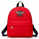 LADIES BACKPACK - RED PLUG