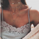 Delicate necklace N615