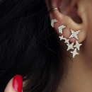 wholesale Jewelry & Watches: SET OF EARRINGS GOLDEN STARS K817