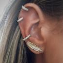 wholesale Earrings: SET OF EARRINGS PEN, GOLDEN WHEEL K820