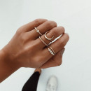 wholesale Rings: SET OF 5 PIECES PE28 RINGS
