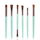 A SET OF 6 PRECISION MAKEUP BRUSHES MIETA PZ1