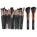 SET OF 22 MAKE-UP BRUSHES BLACK PZ20CZ