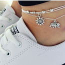wholesale Bracelets: SET 2in1 BRACELET ON THE LEG, THE BONE OF THE ELEP