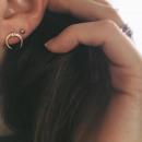 wholesale Earrings: EARRINGS, GOLDEN KRYSZTAEK K857