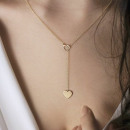 NECKLACE NECK DELICATE HEART N622