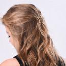Großhandel Haarschmuck:Haarnadel Gold Star SP12
