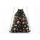 BAG FOR FLAMING AND CAKE SHOES BLACK PLW-01WZ6