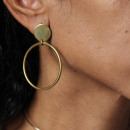 GOLDEN WHEEL K926Z EARRINGS